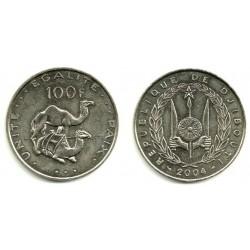 (26) Djibouti. 2004. 100 Francs (SC)