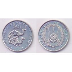 (25) Djibouti. 1999. 50 Francs (SC)