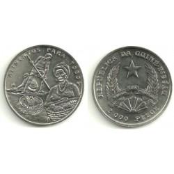 (38) Guinea-Bissau. 1995. 2000 Pesos (SC)