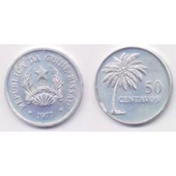 (17) Guinea-Bissau. 1977. 50 Centavos (SC)
