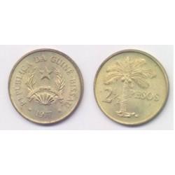 (19) Guinea-Bissau. 1977. 2 ½ Pesos (SC)