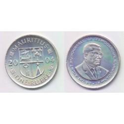 (55) Mauricio. 2002. 1 Rupee (SC)