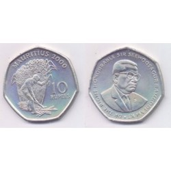 (61) Mauricio. 2000. 10 Rupees (SC)