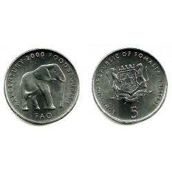 (45) Somalia. 2002. 5 Shillings (SC)