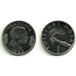 (11) Tanzania. 1992. 1 Shilingi (SC)