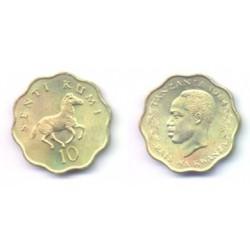 (11) Tanzania. 1984. 10 Senti (SC)