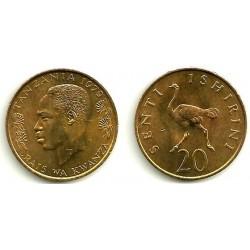 (2) Tanzania. 1979. 20 Senti (SC)