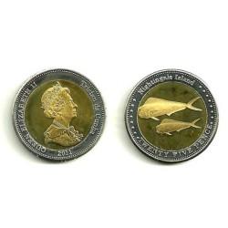 Tristán de Acuña. 2011. 25 Pence (SC)