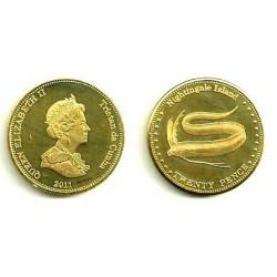 Tristán de Acuña. 2011. 20 Pence (SC)