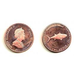 Tristán de Acuña. 2011. 2 Pence (SC)