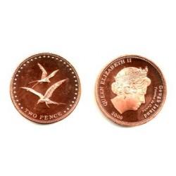Tristán de Acuña. 2009. 2 Pence (Proof)