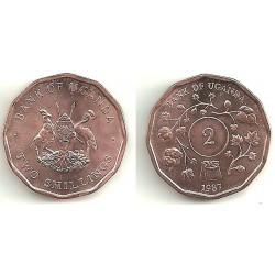(28) Uganda. 1987. 2 Shillings (SC)