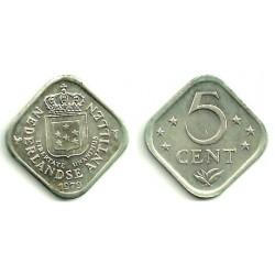 (13) Antillas Neerlandesas. 1979. 5 Cents (SC)
