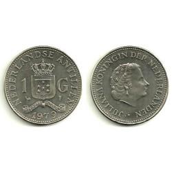 (12) Antillas Neerlandesas. 1979. 1 Gulden (SC)