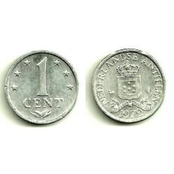 (8a) Antillas Neerlandesas. 1979. 1 Cent (EBC)