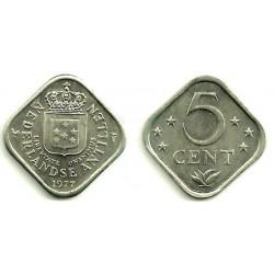 (13) Antillas Neerlandesas. 1977. 5 Cents (SC)