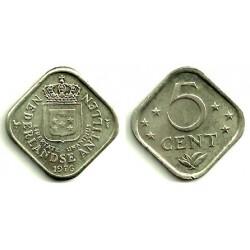 (13) Antillas Neerlandesas. 1976. 5 Cents (SC)