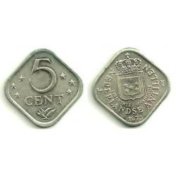 (13) Antillas Neerlandesas. 1975. 5 Cents (SC)