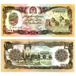 (61c) Afganistán. 1991. 1000 Afghanis (SC)