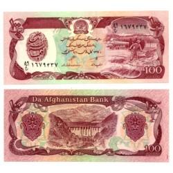 (58b) Afganistán. 1990. 100 Afghanis (SC)