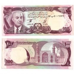 (50c) Afganistán. 1977. 100 Afghanis (SC)