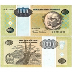 (135) Angola. 1995. 1000 Kwanzas (SC)