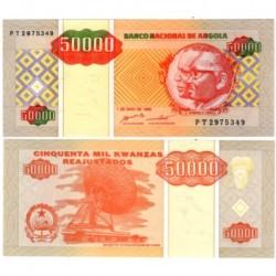 (138) Angola. 1995. 50000 Kwanzas (SC)