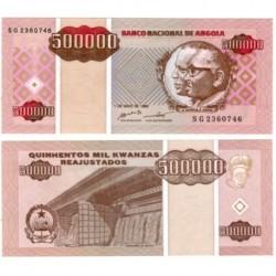 (140) Angola. 1995. 500000 Kwanzas (SC)