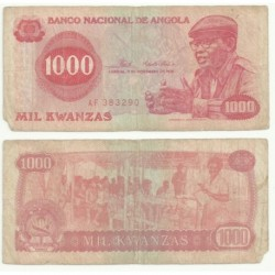 (113) Angola. 1976. 1000 Kwanzas (RC)