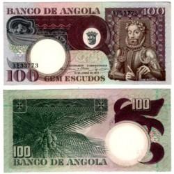 (106) Angola. 1973. 100 Escudos (SC)