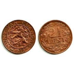 (42) Curasao. 1948. 2 ½ Cents (MBC)