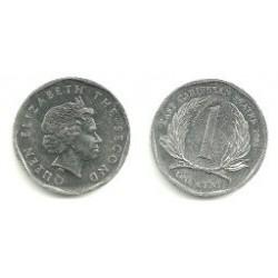 (34) Estados Orientales Caribeños. 2008. 1 Cent (EBC)