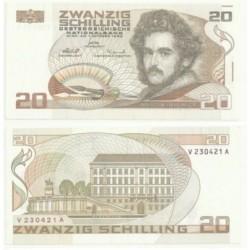(148) Austria. 1986. 20 Schilling (EBC)