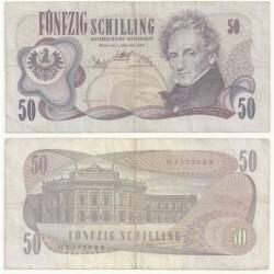 (143) Austria. 1970. 50 Schilling (RC)