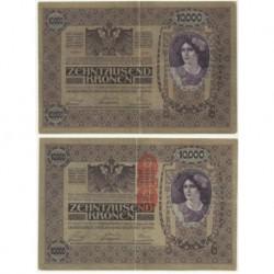 (63) Austria-Hungria. 1918. 10000 Kronen (MBC)