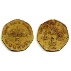 Haití. 1998. 5 Gourdes (RC)