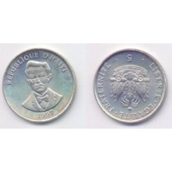 (154a) Haití. 1997. 5 Centimes (SC)