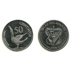 Islas Galapagos. 2008. 50 Centavos (SC)