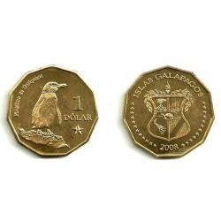 Islas Galapagos. 2008. 1 Dollar (SC)