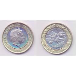 (137) Islas Malvinas. 2004. 2 Pounds (SC)
