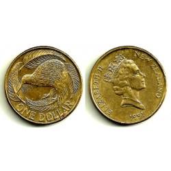 (78) Nueva Zelanda. 1 Dollar. 1991 (MBC)