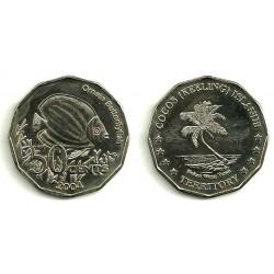 (2004) Islas Cocos. 2004. 50 Cents (SC)