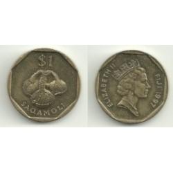 (73) Islas Fiji. 1997. 1 Dollar (SC)