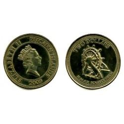 Islas Pitcairn. 2009. 2 Dollars (SC)