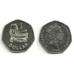 (72) Islas Salomón. 2005. 1 Dollar (SC)