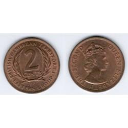 (3) Estados Orientales Caribeños. 2 Cents. 1965 (SC)