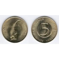 (6) Eslovenia. 1994. 5 Tolarjev (Escoje la Calidad)