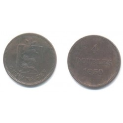 (2) Guernsey. 1830. 4 Doubles (BC)
