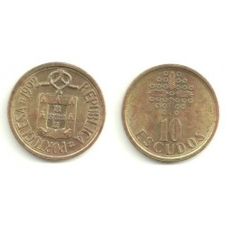 (633) Portugal. 1992. 10 Escudos (BC)