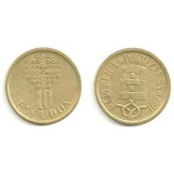 (633) Portugal. 1991. 10 Escudos (BC)